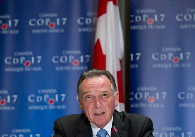 Canada se retira del Protocolo de Kioto