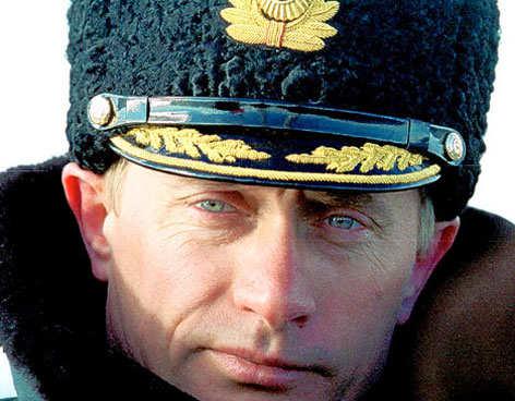 Putín añora la grandeza militar rusa