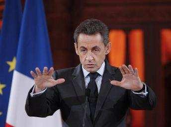 La campaña presidencial de Sarkozy