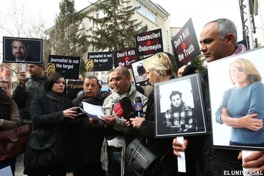 Siria no se responsabiliza por la muerte de periodistas