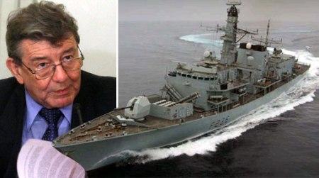 Perú niega ingreso a fragata inglesa en el Callao