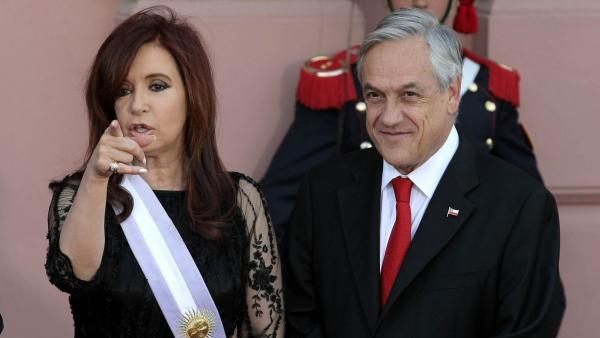 Cristina Kirchner visita Chile