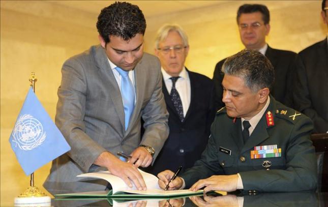 Firma del acuerdo ONU – Siria