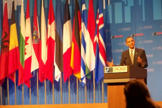 La Cumbre de la OTAN en Chicago