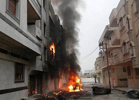 Internacionalización del conflicto Sirio