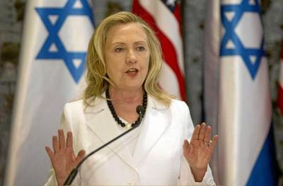 Hillary Clinton en Egipto e Israel