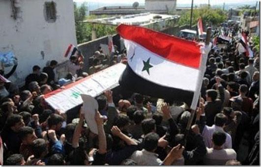 Crisis en Siria se expande