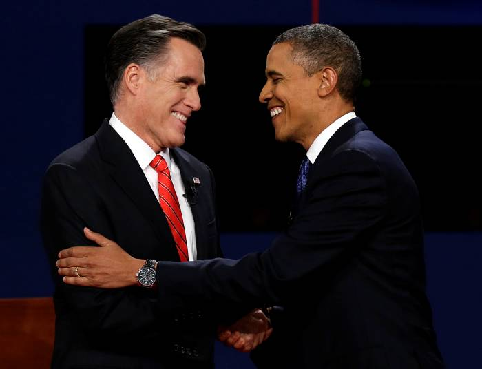 Segundo debate entre Obama y Romney