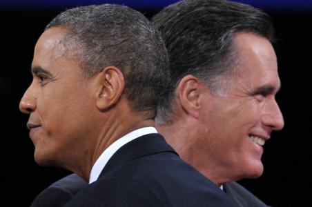 El tercer debate entre Obama y Romney