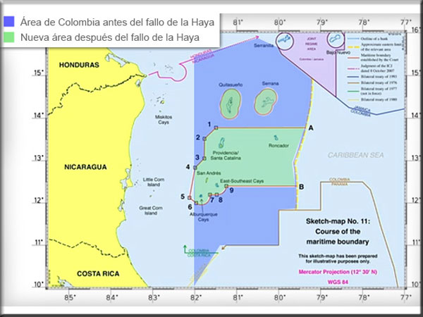 Sentencias de La Haya sobre Islas San Andrés