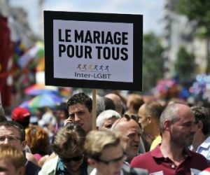 Matrimonio gay en EEUU y Francia