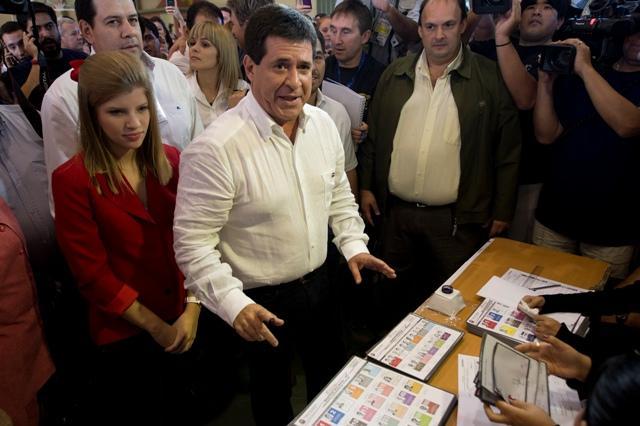 Resultados electorales en Paraguay