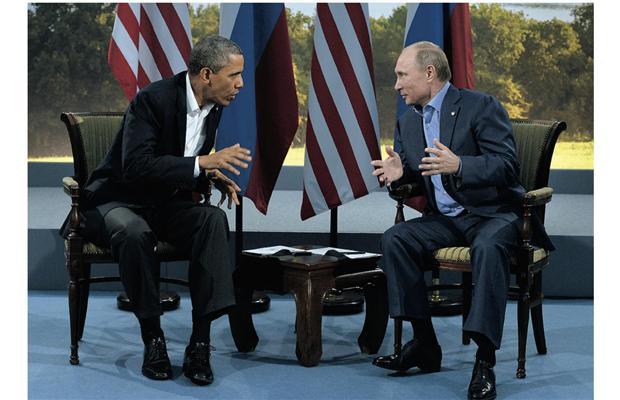 Putin y Obama discrepan sobre Siria