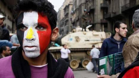 La marcha del millón en Egipto