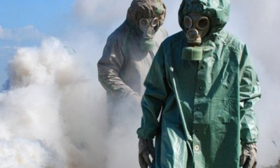 Desmantelan plantas químicas en Siria
