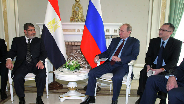 Egipto busca las paces con Rusia
