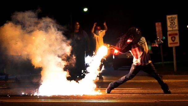 Protestas en Ferguson, Missouri.